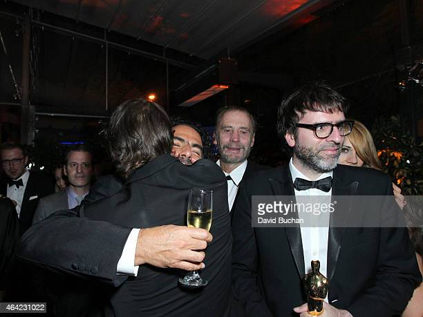 Nicolas Giacobone attends the 21st Century Fox and Fox Searchlight Oscar Party at BOA Steakhouse on February 22 2015 in West Hollywood California