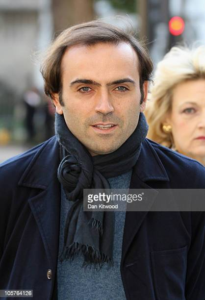 Nicolas Granatino arrives at the Supreme Court today for an appeal hearing brought against his exwife German heiress Katrin Radmacher after his...