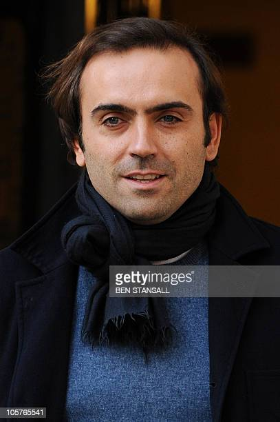 Nicolas Granatino leaves the Supreme Court in central London on October 20 2010 Britain's highest court ruled in favour of one of Europe's richest...