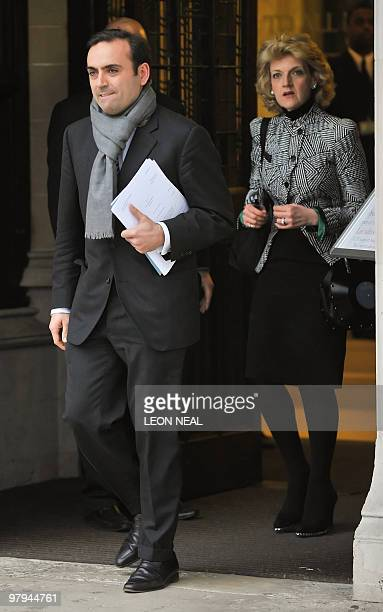 Nicolas Granatino leaves the Supreme Court in central London on March 22 2010 A university researcher faces financial ruin if his former wife an...
