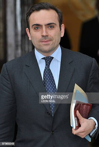 Nicolas Granatino leaves the Supreme Court in central London on March 23 2010 A battle by one of Europe's richest women to have prenuptial agreements...