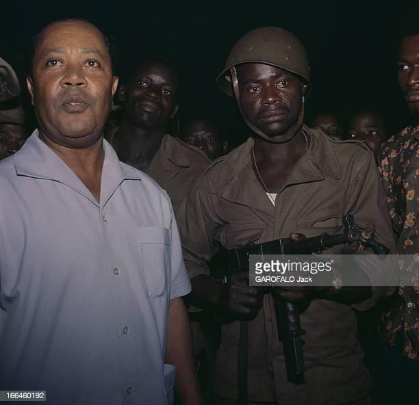 Nicolas Grunitzky President Of Togo Togo janvier 1963 Portrait de Nicolas GRUNITZKY second Président du Togo indépendant après le coup d'état et...