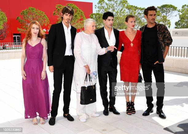Nicolas Hau Vanessa RedgraveJulien LandaisAlice Aufray and Jon Kortajarena attend 'The Aspern Papers' photocall during the 75th Venice Film Festival...