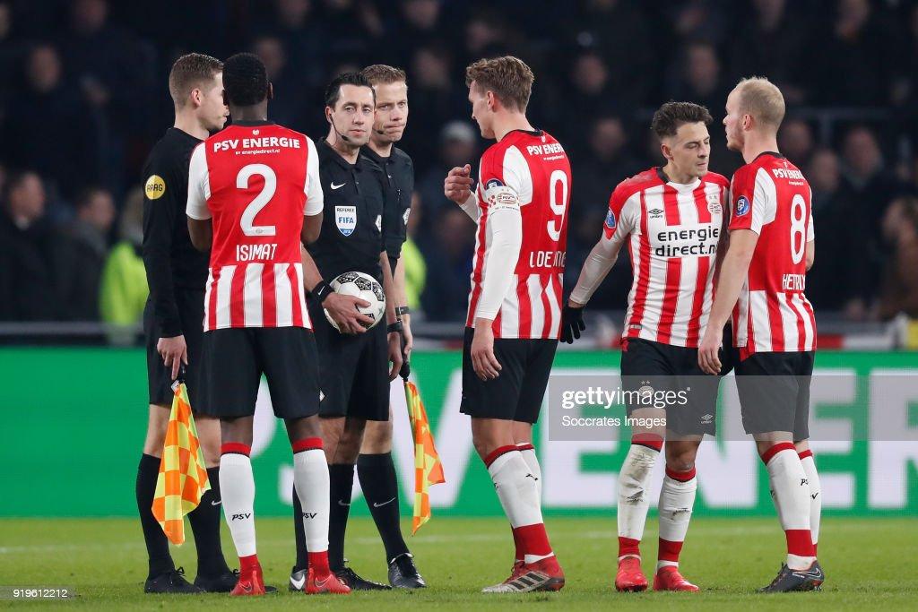 PSV v SC Heerenveen - Dutch Eredivisie : ニュース写真