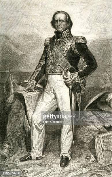 Nicolas Jean de Dieu Soult . 'Soult duc de Dalmatie, Maréchal de France'. Portrait of Nicolas Jean de Dieu Soult ,1st Duke of Dalmatia. Soult, the...