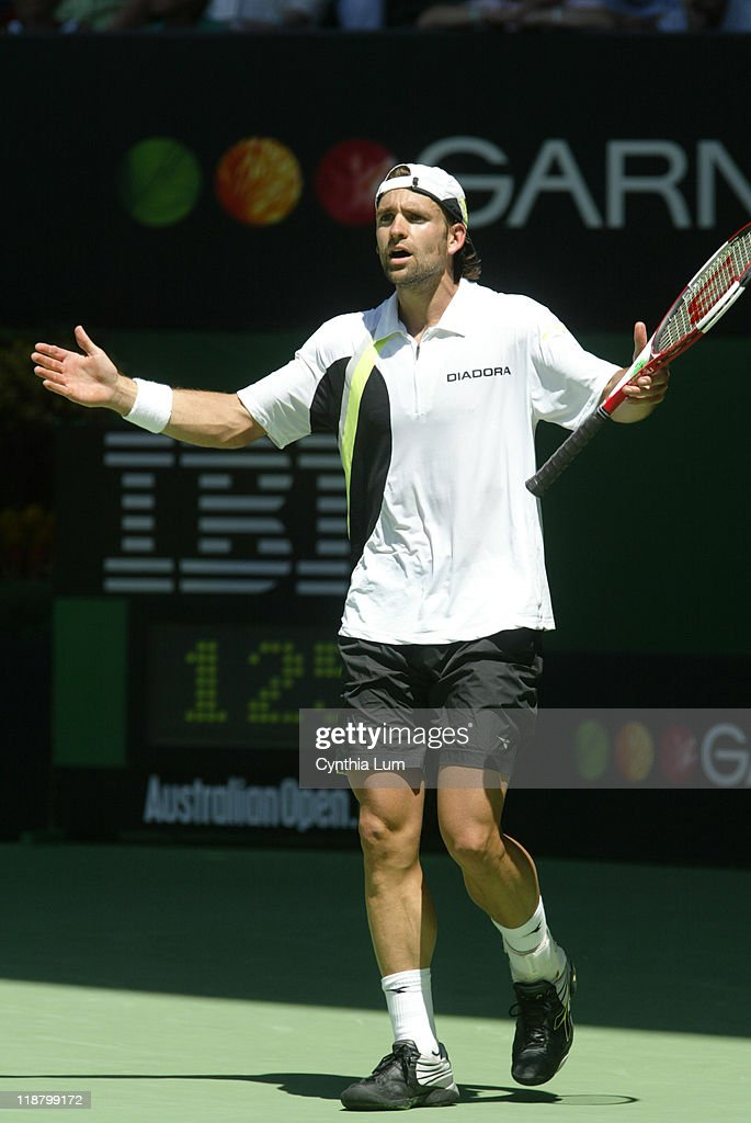 2006 Australian Open - Mens Singles - Quarter Final Round - Nicolas Kiefer vs