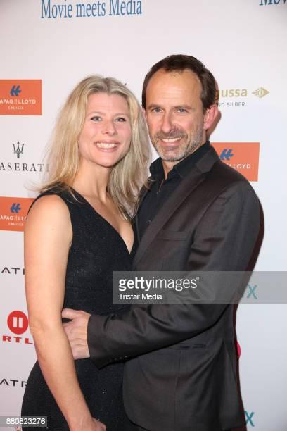 Nicolas Koening and Nina Kirschner attend the Movie Meets Media event 2017 at Hotel Atlantic Kempinski on November 27 2017 in Hamburg Germany