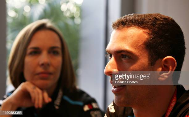 Nicolas Latifi of Canada and Williams is announced as a Williams race driver for the 2020 Formula One season alongside Williams Deputy Team Principal...