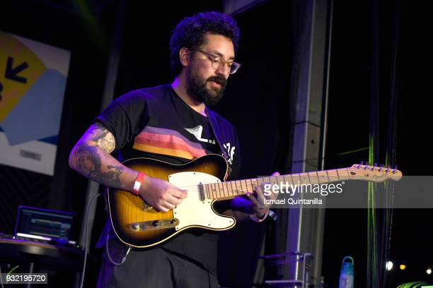 Nicolas Losada of Salt Cathedral performs onstage at Pandora during SXSW at The Gatsby on March 14 2018 in Austin Texas