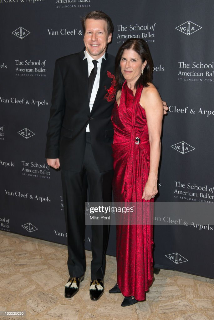 Nicolas Luchsinger (L) attends the School of American Ballet 2013 Winter Ball at David H. Koch Theater, Lincoln Center on March 11, 2013 in New York City.