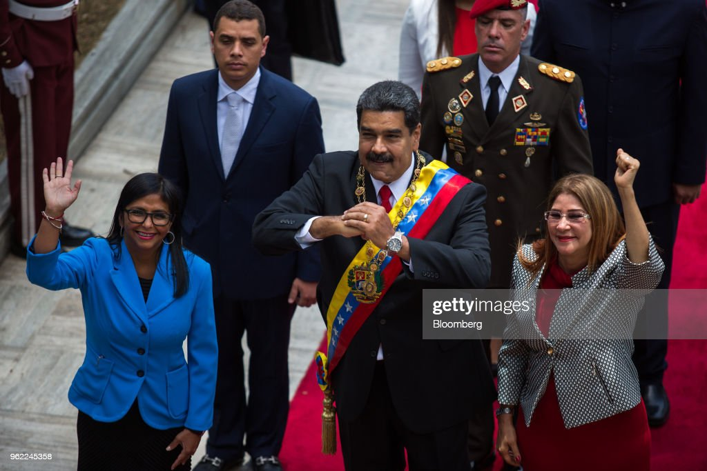 President Nicolas Maduro Takes Oath As President- Elect Months Before Official Ceremony