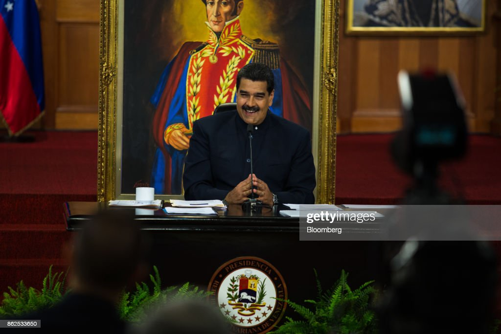 President Maduro Holds News Conference As Regional Elections Marred By Accusations Of Fraud