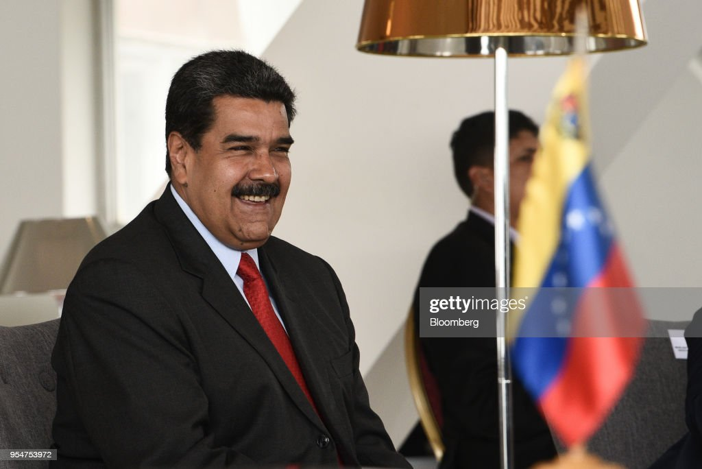 President Nicolas Maduro Attends The Reopening Of The Luxury Humboldt Hotel