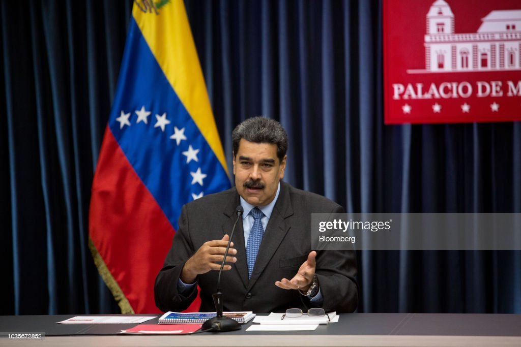 President Maduro Holds Press Conference After Salt Bae Steakhouse Backlash