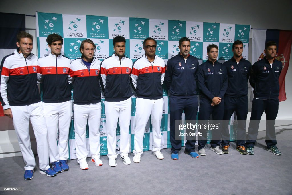 France v Serbia - Davis Cup World Group Semi Final: Previews