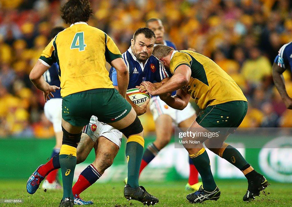 Australia v France - First Test