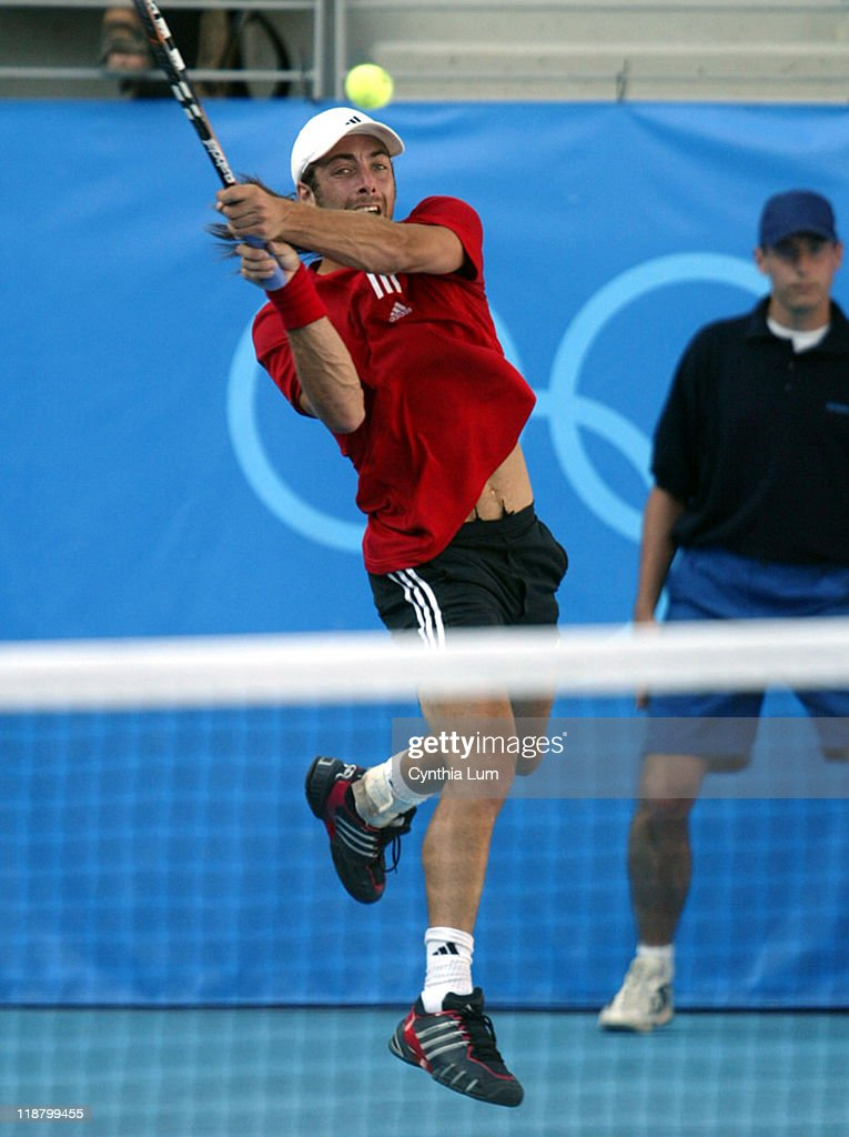 Athens 2004 Olympic Games - Day 6 - Tennis - Men's Singles Quarterfinals -