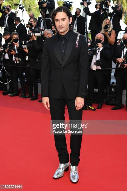 """Nicolas Maury attends the final screening of """"OSS 117: From Africa With Love"""" and closing ceremony during the 74th annual Cannes Film Festival on..."""
