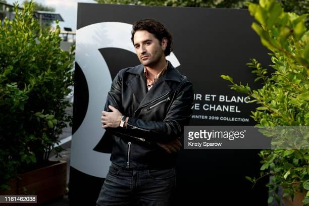 Nicolas Maury attends the Noir et Blanc de Chanel Fall/Winter 2019 Makeup Collection Yachts De Paris on July 11 2019 in Paris France