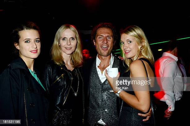 Nicolas Mereau and guests attend the Aquarium Club Re Opening Party at the Trocadero on September 21 2013 in Paris France