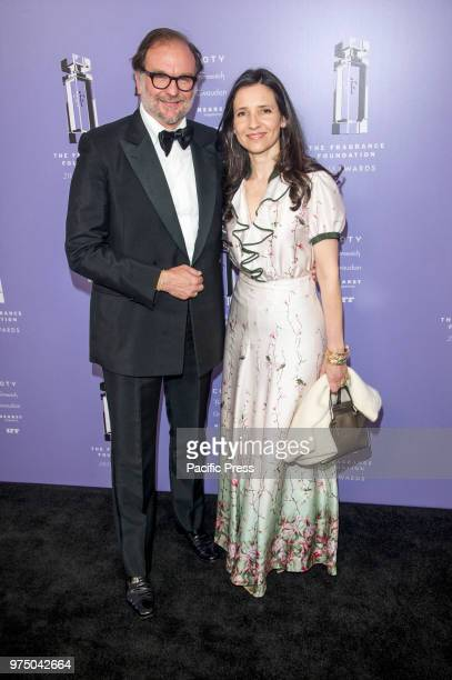 Nicolas Mirzayant and Princess Alexandra attend 2018 Fragrance Foundation Awards at Alice Tully Hall at Lincoln Center