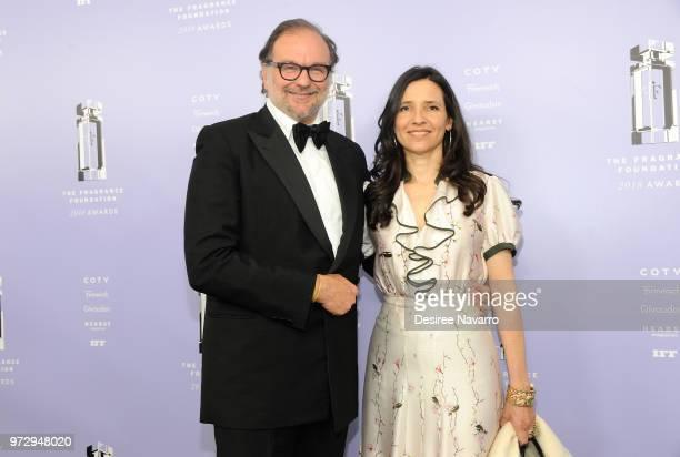 Nicolas Mirzayantz and Princess Alexandra of Greece, Alexandra Mirzayantz attend 2018 Fragrance Foundation Awards at Alice Tully Hall at Lincoln...