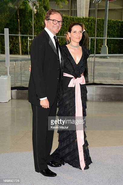 Nicolas Mirzayantz and Princess Alexandra of Greece attend 2013 CFDA Fashion Awards at Alice Tully Hall on June 3, 2013 in New York City.