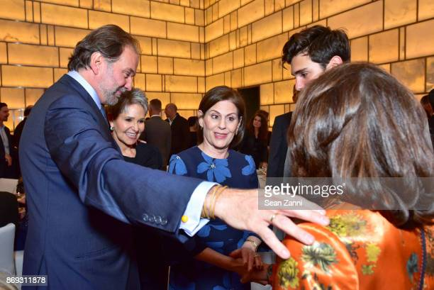 Nicolas Mirzayantz Ann Gottlieb Linda G Levy Tigran Mirzayantz and Princess Marina of Greece attend the Circle of Champions 2017 at New York Park...