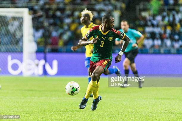 Nicolas Nkoulou of Cameroon during the African Nations Cup match between Cameroon and Gabon at Stade de L'Amitie on January 22, 2017 in Libreville,...