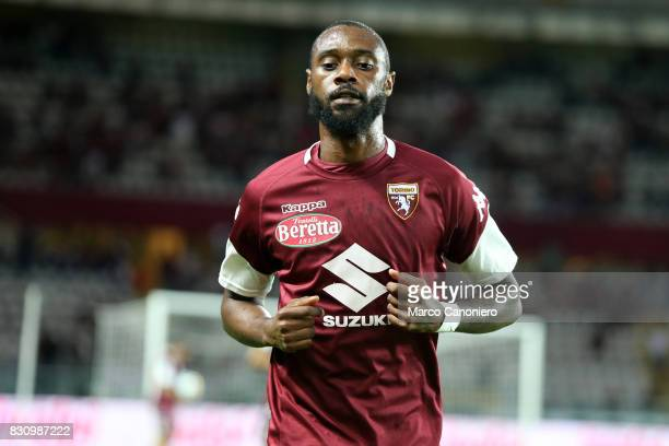 Nicolas N'Koulou of Torino FC during the Italia Tim Cup match between Torino Fc and Trapani Calcio . Torino Fc wins 7-1 over Trapani Calcio.