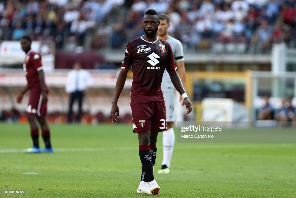 Nicolas N'Koulou of Torino FC     during the Serie A... : ニュース写真