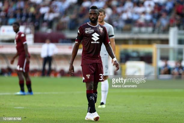 Nicolas N'Koulou of Torino FC during the Serie A football match between Torino Fc and As Roma.
