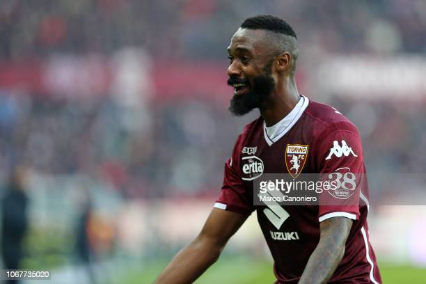 Nicolas N'Koulou of Torino FC during the Serie A football match between Torino Fc and Genoa Cfc. Torino Fc wins 2-1 over Genoa Cfc.