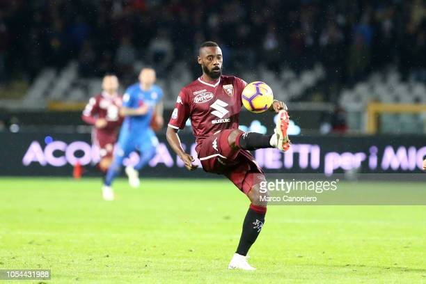 Nicolas N'Koulou of Torino FC in action during the Serie A football match between Torino Fc and Acf Fiorentina. The match end in a tie 1-1.