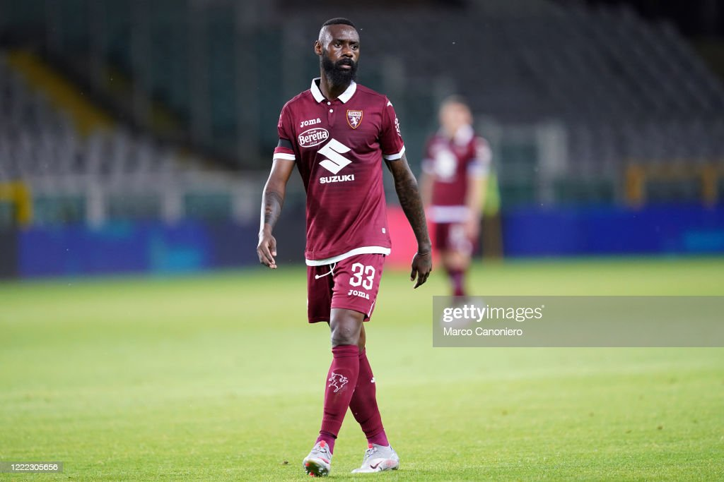 Nicolas N'Koulou of Torino FC in action   during the  Serie... : ニュース写真