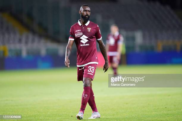 Nicolas N'Koulou of Torino FC in action during the Serie A match between Torino Fc and UdineseCalcio. Torino Fc wins 1-0 over Udinese Calcio.