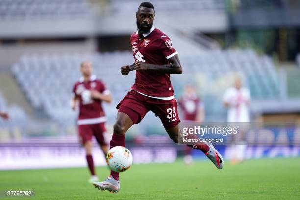 Nicolas N'Koulou of Torino FC in action during the Serie A match between Torino Fc and Genoa Cfc. . Torino Fc wins 3-0 over Genoa Cfc.