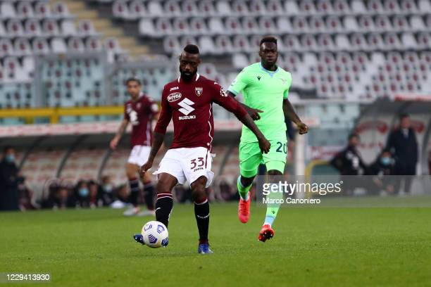 Nicolas N'Koulou of Torino FC in action during the Serie A match between Torino Fc and Ss Lazio. Ss Lazio wins 4-3 over Torino Fc.