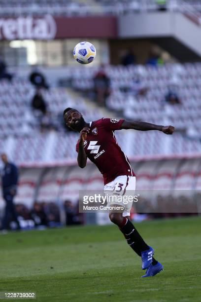 Nicolas N'Koulou of Torino FC in action during the the Serie A match between Torino Fc and Atalanta Calcio. Atalanta Bergamasca Calcio wins 4-2 over...