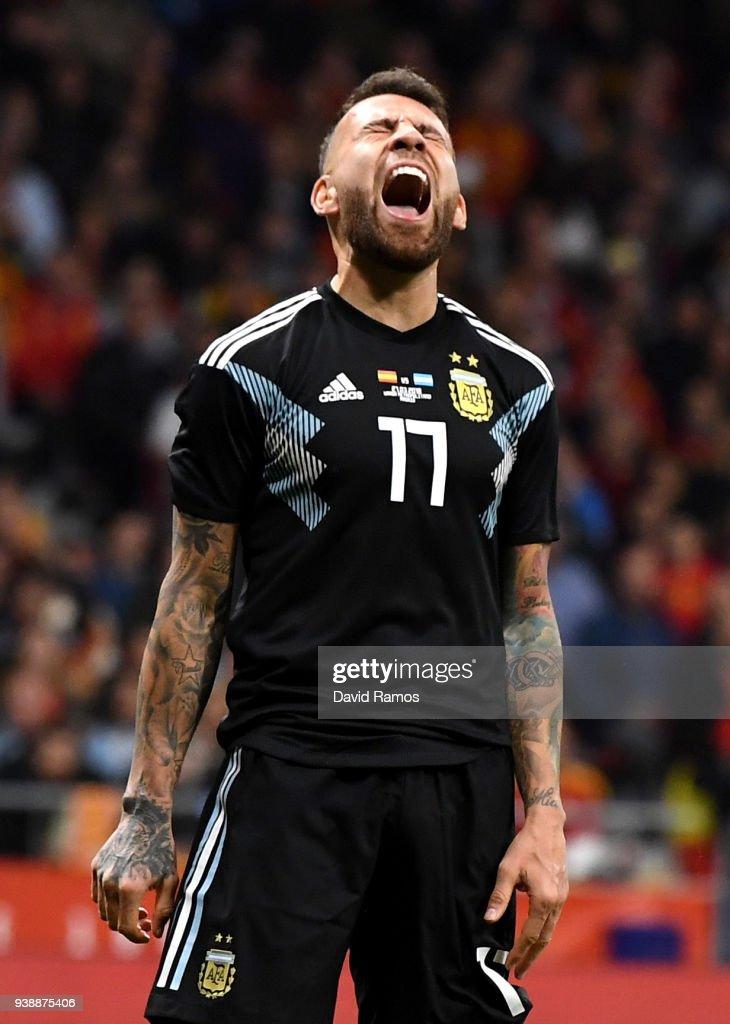 Spain v Argentina - International Friendly : News Photo