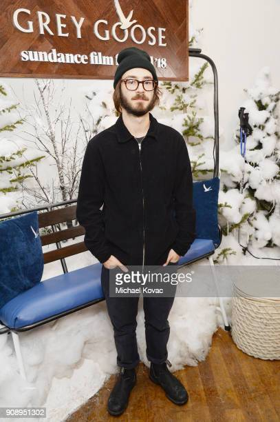 Nicolas Pearce attends as Grey Goose Blue Door hosts the casts of gamechanging films during the Sundance Film Festival at The Grey Goose Blue Door on...
