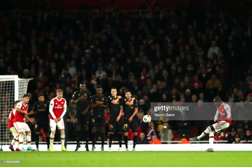 Arsenal FC v Vitoria Guimaraes: Group F - UEFA Europa League : News Photo