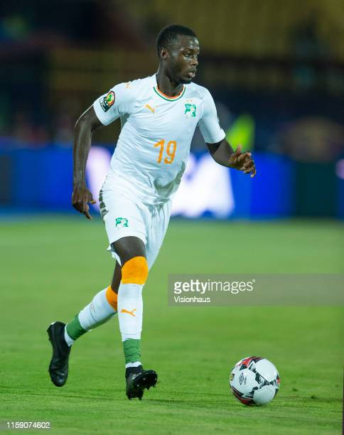 Nicolas Pepe of Ivory Coast during the 2019 Africa Cup of Nations Group D match between Morocco and Ivory Coast at Al-Salam Stadium on June 28, 2019...