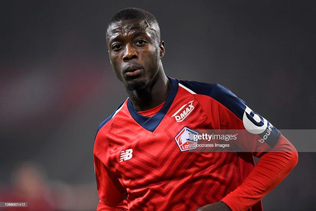 Lille v Olympique Lyon - French League 1 : ニュース写真