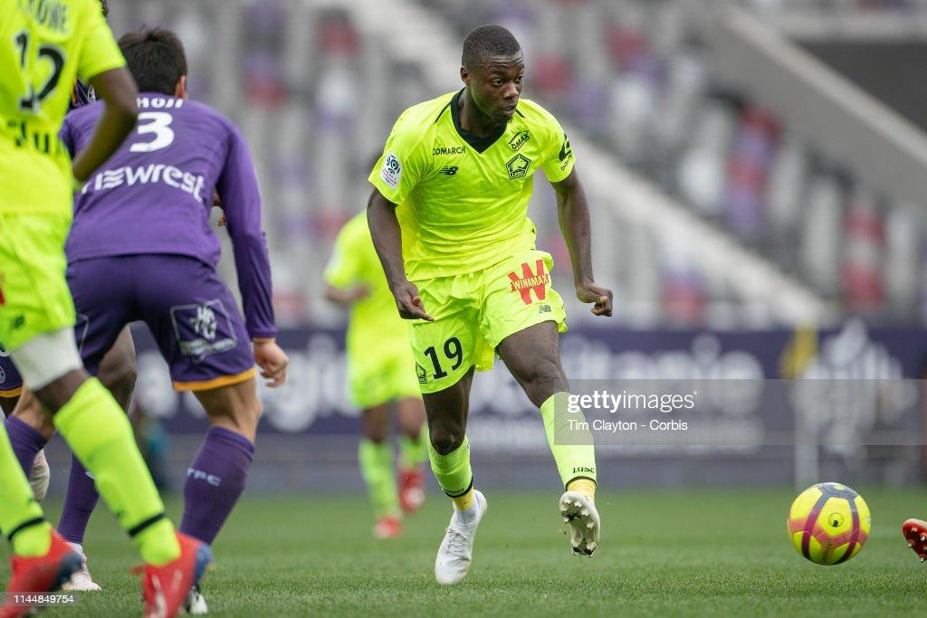 Toulouse FC V Lille OSC : News Photo