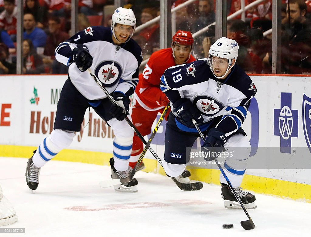 Winnipeg Jets v Detroit Red Wings : News Photo