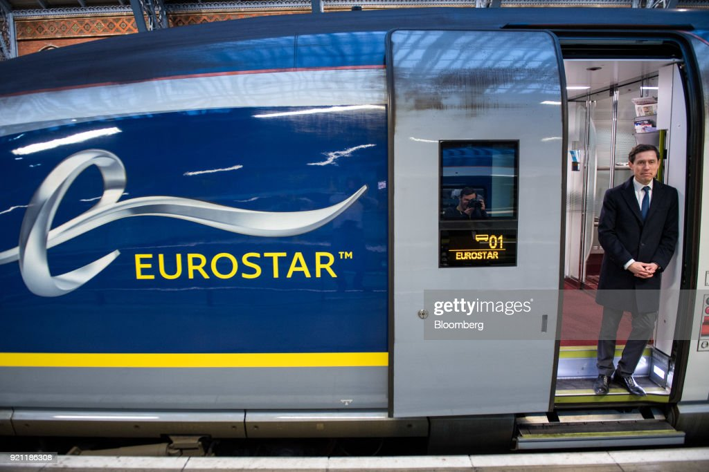 Eurostar International Ltd. Chief Executive Officer Nicolas Petrovic Presents The Inaugural Service From St Pancras To Amsterdam