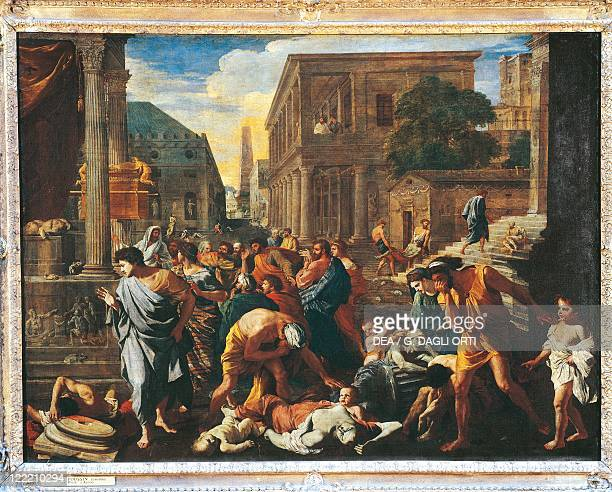 Nicolas Poussin The plague of Ashdod 163031