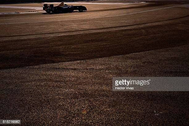 Nicolas Prost of France and Renault e.Dreams during the Mexico City Formula E Championship 2016 at Autodromo Hermanos Rodriguez on March12, 2016 in...