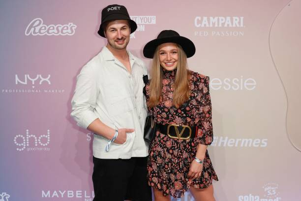DEU: VIPS At Tom Tailor - ABOUT YOU Fashion Week Autumn/Winter 21